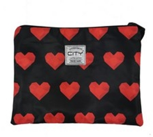 ΤΣΑΝΤΑΚΙ CITY SAFE POCKET 21815 ROCK HEARTS