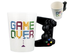 ΚΟΥΠΑ TOTAL GIFT CERAMIC MUGS XL0991 GAME OVER