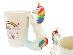 ΚΟΥΠΑ TOTAL GIFT CERAMIC CUP XL0988 UNICORN