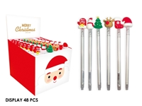 Εικόνα της ΣΤΥΛΟ TOTAL XMAS BN0996 CHRISTMAS RUBBER PEN