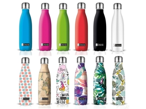 ΠΑΓΟΥΡΙΑ i DRINK ID0050 THERMAL 500ml ASSORTED 24τεμ (12 COLORS + 12 GRAPHICS)